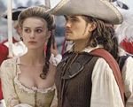 "Keira Knightley and Orlando Bloom from ""Pirates of the Caribbean"