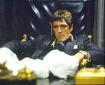 Al Pacino in Scarface Sunken in Chair