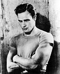 "Marlon Brando in ""A Street Car Named Desire"""